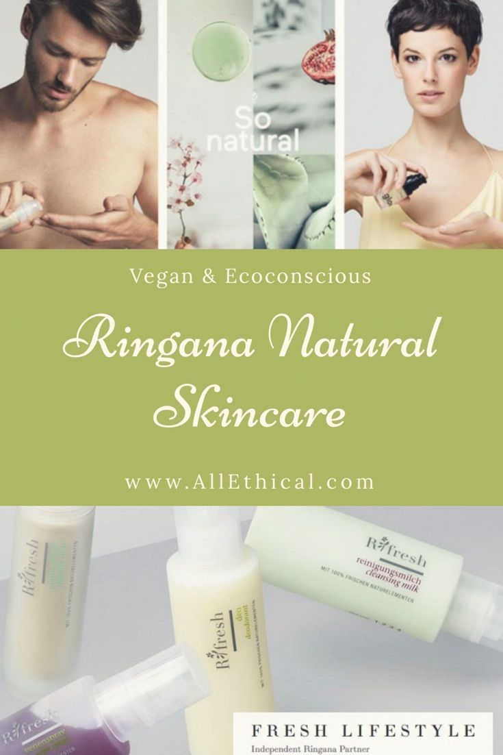 PURE INGREDIENTS. GENUINE EFFECT. That's the simple philosophy that underpins everything that multi-award-winning, 100% fresh skin care and beauty brand, Ringana, does. As the world's first and only producer of food-state, synthetic-free skin care, body care and whole food supplements, Ringana is at the forefront of green high tech. #vegan #skincare #supplements