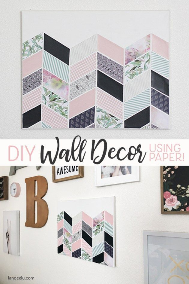 Darling Diy Wall Decor For Girl S Bedroom With Images Diy