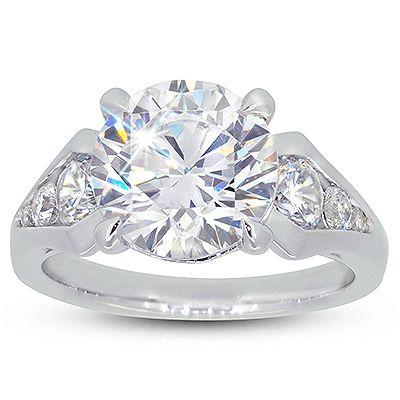 Moi Moi 'Leah' Diamond Engagement Ring