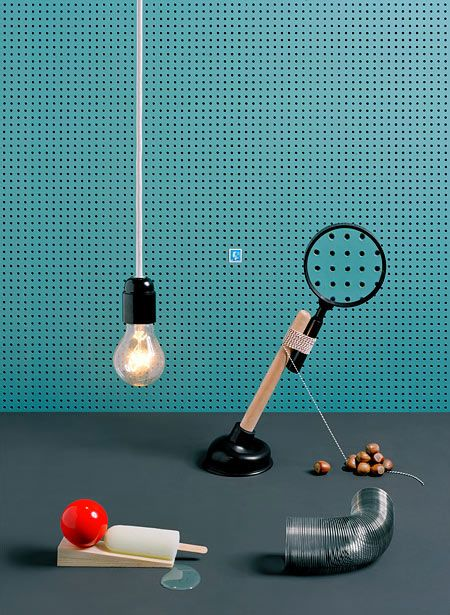 Love these Rube-Goldbergesque photos by Swedish design firm RGB6.