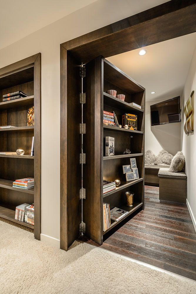 Okay, so like If this is possible. I would love to have a secret room like this. Because yes.