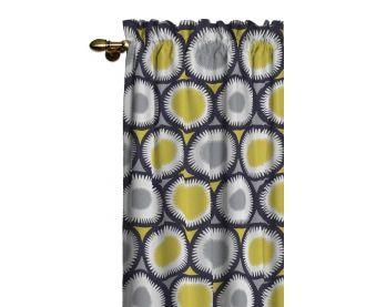 Zasłona na kanale z grzywką w kolekcji Oslo, tkanina: 137-08