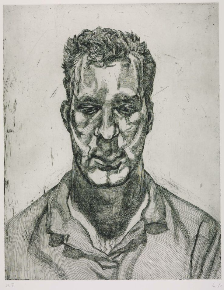 Lucian Freud, 'Kai' 1992