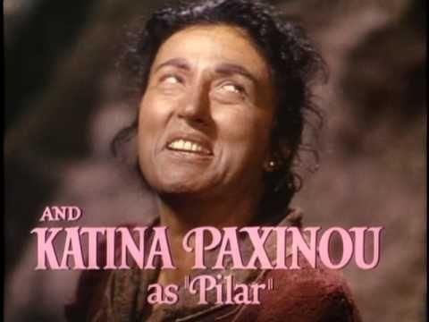 8th Winner : Katina Paxinou Oscar winning performance as Pilar in For Whom the Bell Tolls (1943).