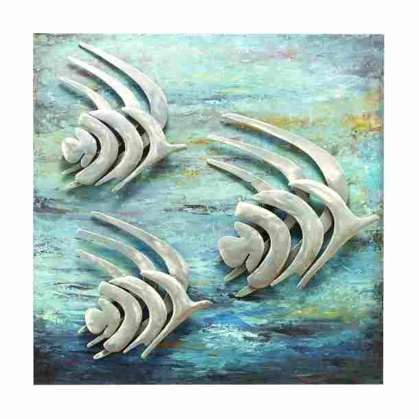 Abstract Fish | Metal Art | Wall Decor | Metal Decor | Wall Art | Artwork | Pictures Frames and More | Winnipeg | Manitoba | MB | Canada