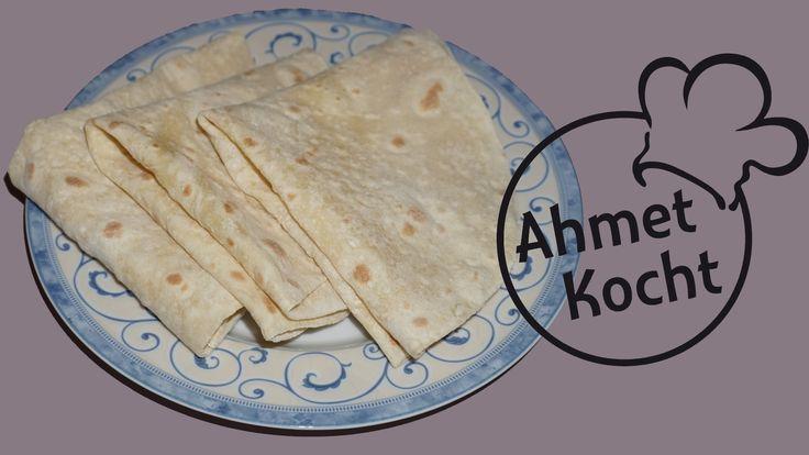 Yufka Teig ohne Hefe | AhmetKocht | türkisch backen | Folge 194