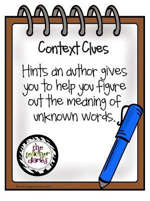 17 best ideas about Context Clues on Pinterest | Context clues ...