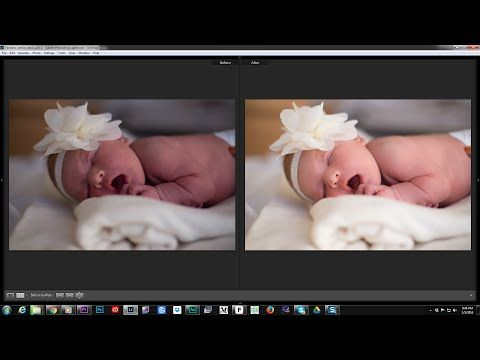 How to edit newborn photos in Lightroom in less than 1 minute! - YouTube