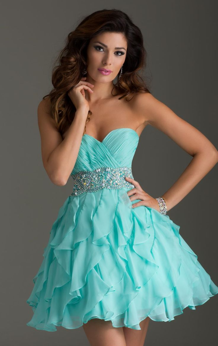 46 best Dresses images on Pinterest | Cute dresses, Short prom ...