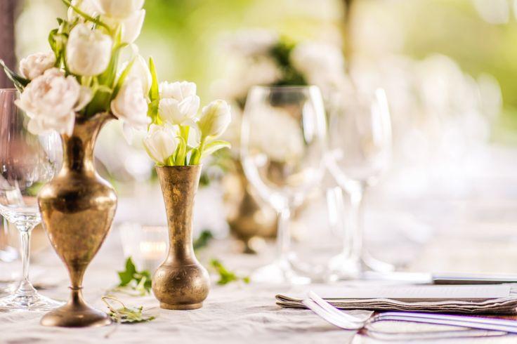 Beautiful Table Settings. Wedding at Spicers Tamarind Retreat - Sunshine Coast.