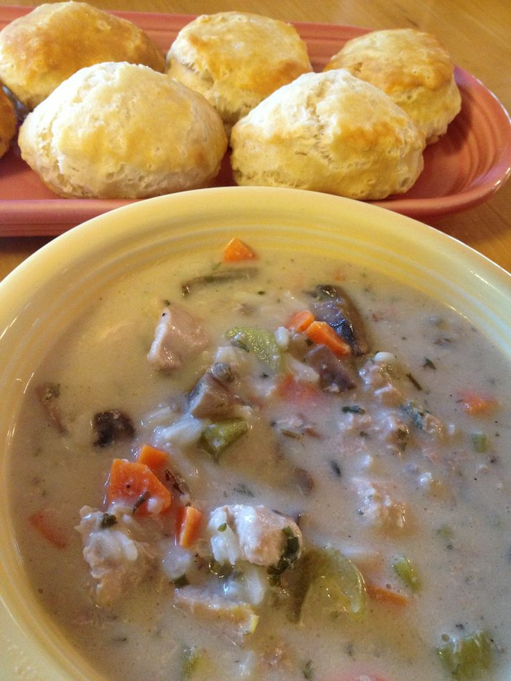 Pheasant Wild rice soup. Pretty sure I could lighten this up
