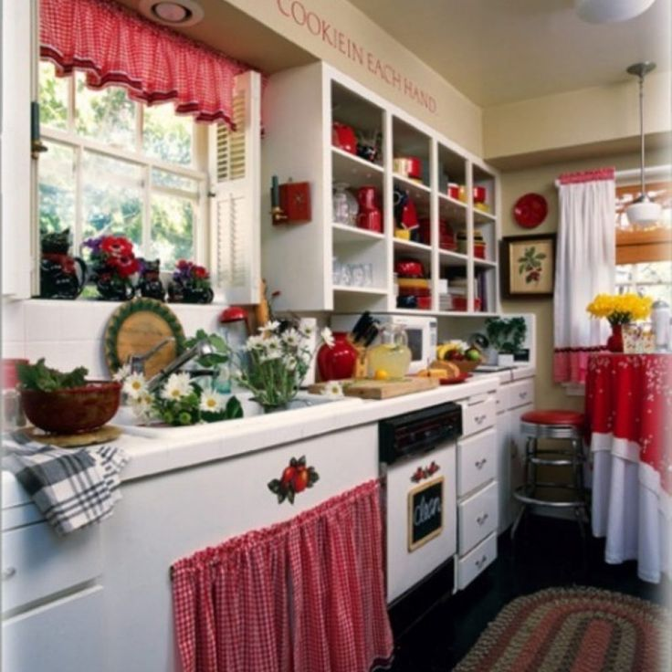Red Kitchen Decor Themes