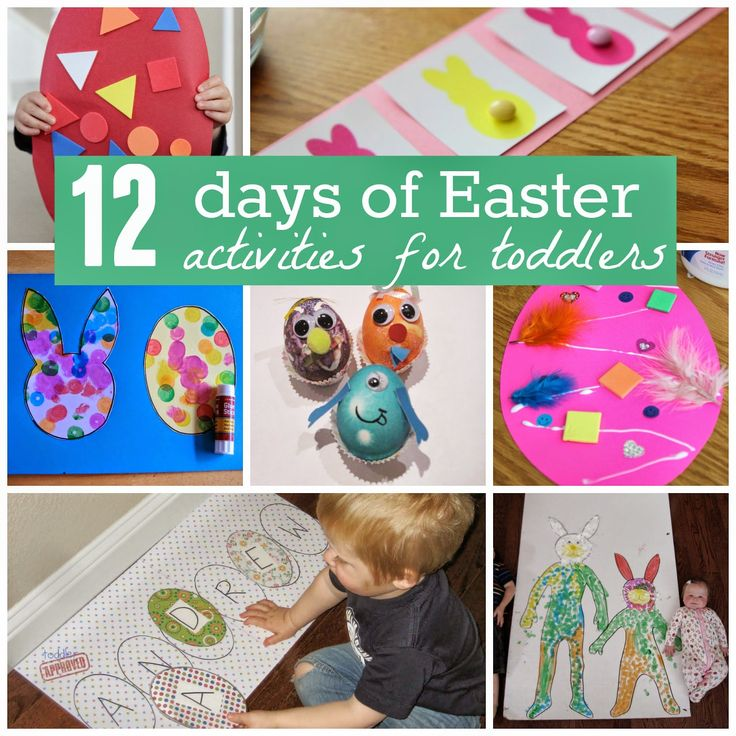 Toddler Approved!: A Very Toddler Easter {12 Days of Activities}