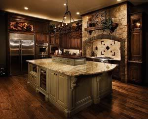 Two Color Kitchen Cabinets   ... Kitchen Cabinet Paint Colors into your Kitchen Cabinet Paint Ideas