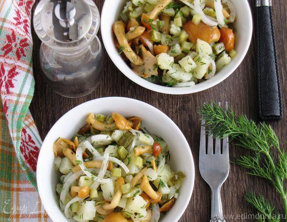 Письмо «Картофельный салат с грибами и маринованным луком» — Едим Дома! — Яндекс.Почта