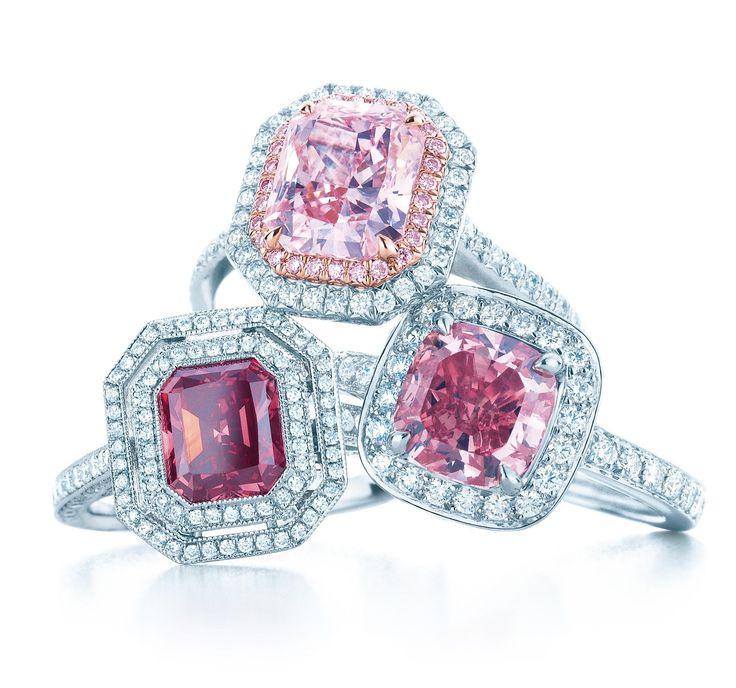 TIFFANY Pink Diamond Rings