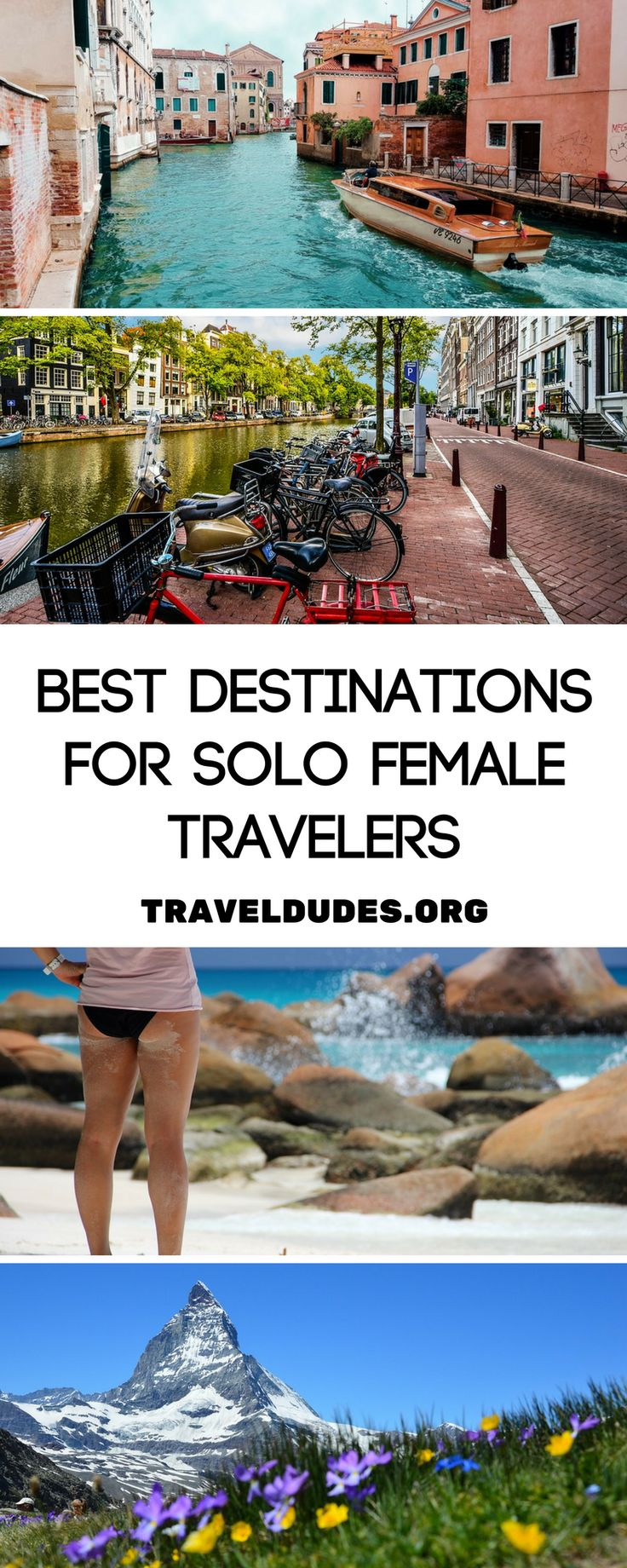 10 of the safest destinations for solo female travelers. Solo female travel tips. | Blog by Travel Dudes: Community for Travelers, by Travelers!
