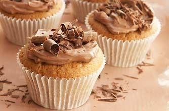 Continuing with the coffee theme, these mocha cupcakes by AWT will leave people begging for the recipe - they're a real mid-morning treat.