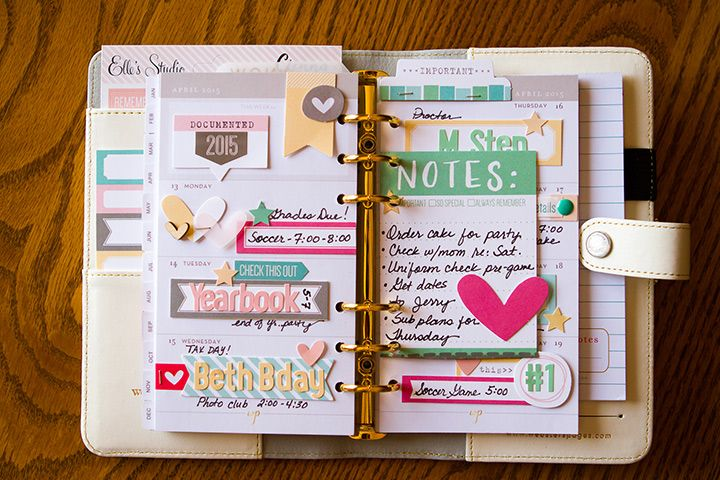 Elle's Studio in your Planner with Kay and Jennifer