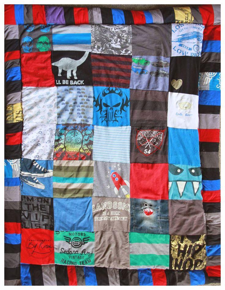 T-Shirt Quilt!