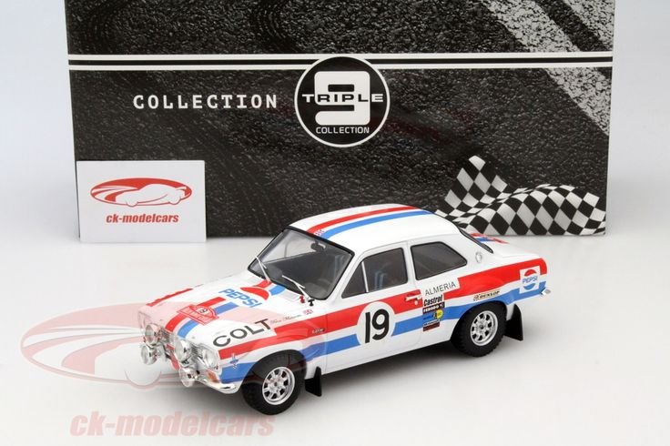 Ford Escort Mk.1 RS 1600, Rally Monte Carlo 1972, No.19, T.Makinen / H.Liddon. Triple9, 1/18. Price (2016): 60 EUR.