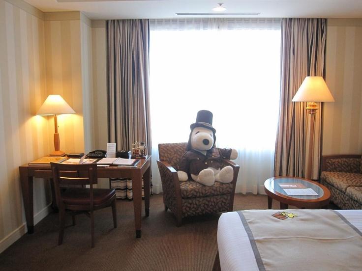 スヌーピー ルーム -SNOOPY ROOM- @帝国ホテル大阪