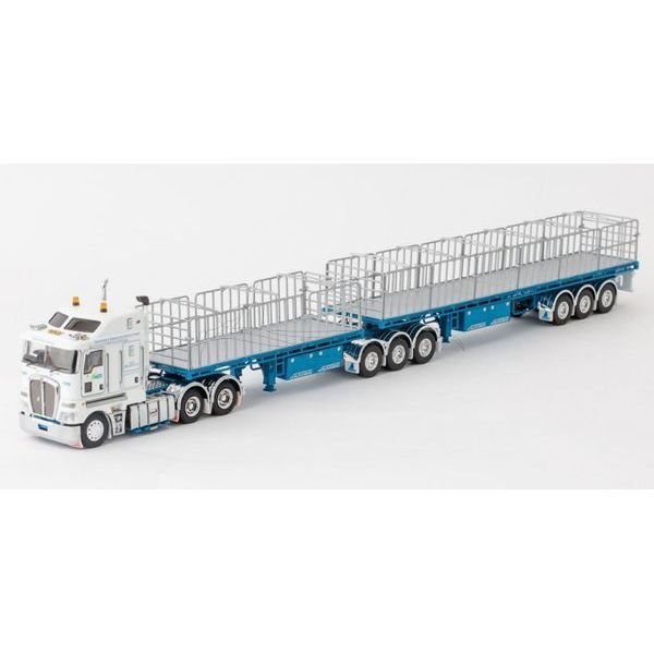 Maxitrans Freighter B-Double Flat Top Trailer Set with K200 Prime Mover - Drake - ZT09152 Suits ALL Drake Kenworth Prime Movers, K200's C509's & T909's..