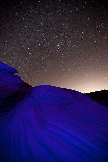 Indigo Magic  Blue Man Planet,Valley of Fire State Park,Nevada