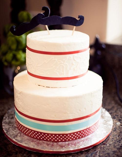 little chef pizza party mustache confettie cake