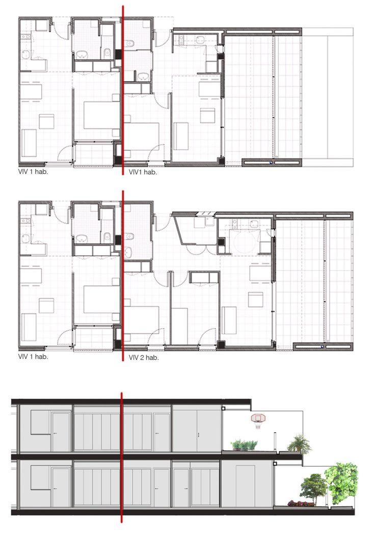 Gallery of 114 Public Housing Units / Sauquet Arquitectes i Associats - 16