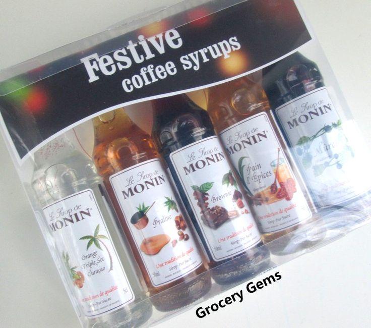 Costa Coffee Monin Syrup Set 2014