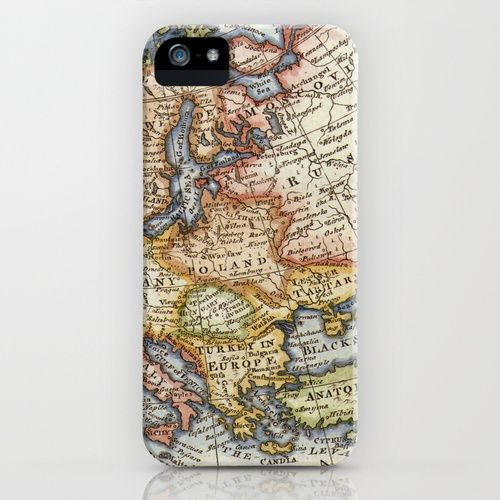 Vintage Maps iPhone Case