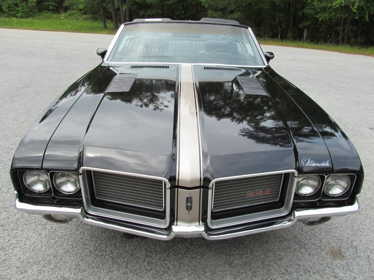 Oldsmobile 442 Convertible 455 V8, Factory Cruise Control