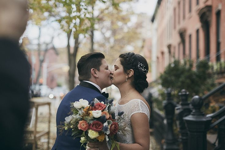 townhouse wedding first look