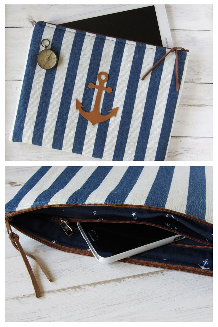 For men and women who love a nautical lifestyle - this stripe look is perfect.