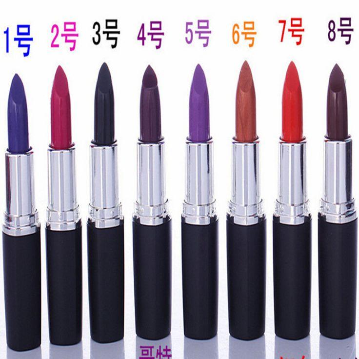8 Color Brand Matte Russian Red Lipstick Waterproof Long Lasting Ruby Woo Lip Stick Lip Gloss Pen Balm Makeup Cosmetic Tool RP #Affiliate