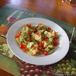 """shrimp + jalapeno nachos 