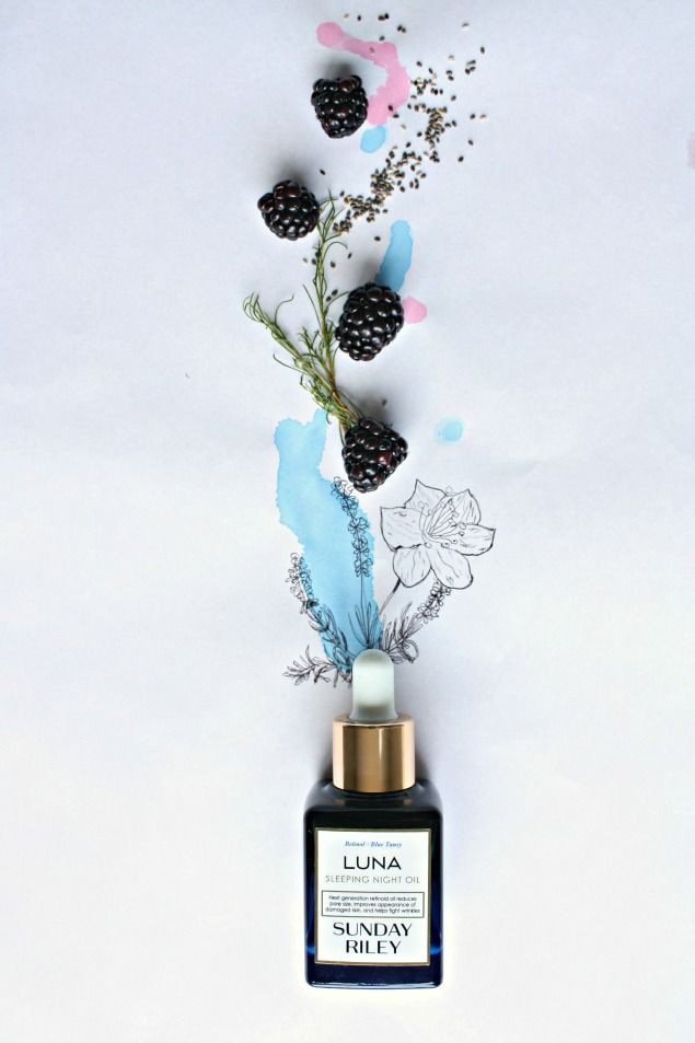 A skincare and beauty review of Sunday Riley Luna Sleeping Night Oil @sephora…