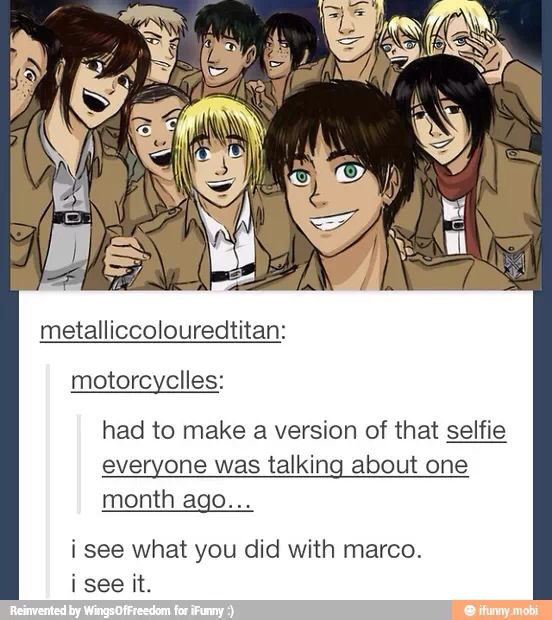You people are driving me half insane with these Marco jabs <<<Repinning mostly for that.