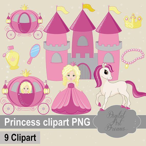 Princess Clipart PNG Horse Clip Art Castle Graphics Royal