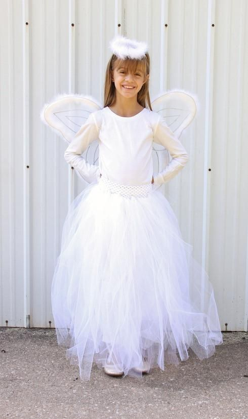 DIY Fairy Costume : DIY Angel Skirt  : DIY Halloween