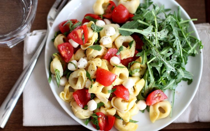 When the weather is hot there are few things I love as much as a big pasta salad chilling in the refrigerator. Serve it for lunches or simple summer dinners or better yet, pack it up for a party. This particular combination is one of my favorites. Fresh basil, tomatoes and mozzarella simply shout summer. [...]