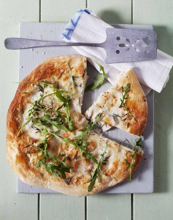 Pizza van de braai