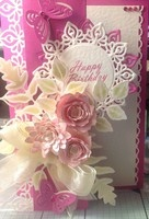A Project by Madhu60 from our Stamping Cardmaking Galleries originally submitted 07/25/12 at 01:15 AM
