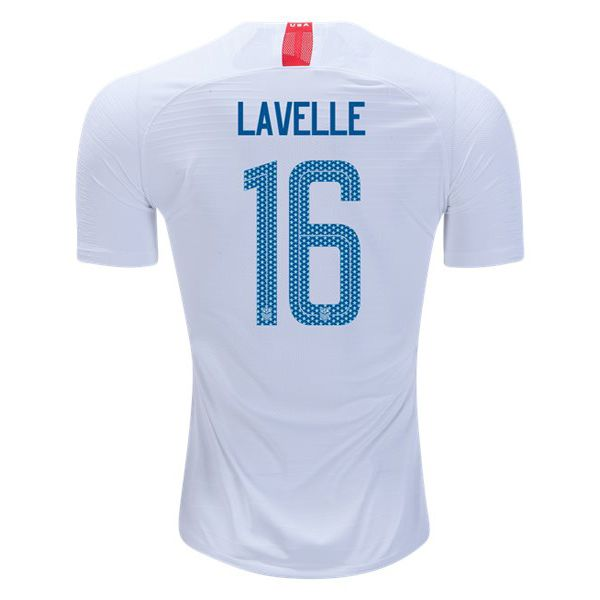 063536b38a9 18/19 Rose Lavelle Jersey Home Replica Men's USA National Team ...