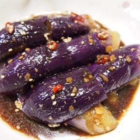 時短レシピ やみつき♡ピリ辛茄子のナムル