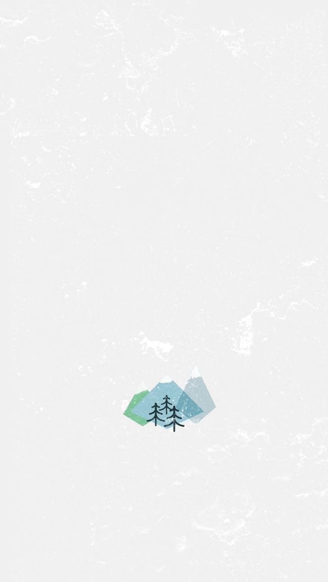Simple Minimalistic Quote iPhone Home Screen Wallpaper