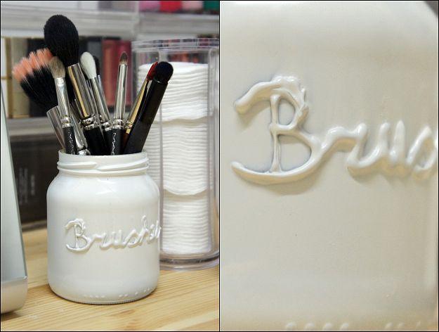 DIY Brush Jar - Beautylab.nl