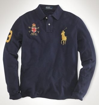Ralph Lauren Polo long sleeve great for travelling