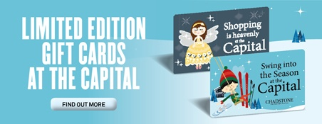 LIMITED EDITION GIFT CARDS FROM THE FASHION CAPITAL www.chadstoneshopping.com.au